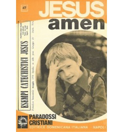 JESUS AMEN (Paradossi cristiani)