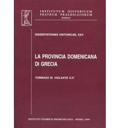 La provincia domenicana di Grecia